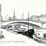 Париж.У моста Турнель.