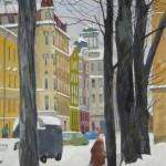 Зима на Малодетскосельском