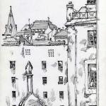 Вид из окна Евгения
