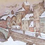 Старые заводы на Обводном канале
