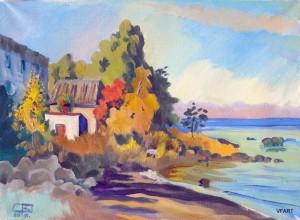 Осенний берег.